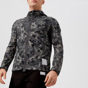 Satisfy Men's Packable Windbreaker Jacket - Reflective Camo III
