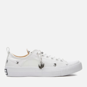 McQ Alexander McQueen Women's Canvas Low-Top Trainers - Optic White Micro