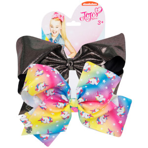 Jojo Siwa Bow Set - Unicorn/Gunmetal
