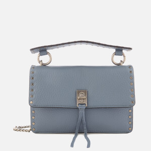 Rebecca Minkoff Women's Darren Top Handle Flap Cross Body Bag - Dusty Blue