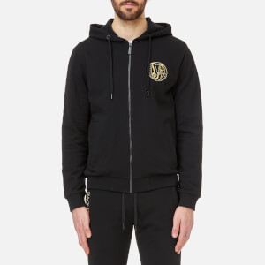 Versace Jeans Men's Zipped Hoody - Black