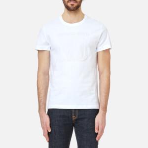 Versace Jeans Men's Script Logo T-Shirt - Bianco