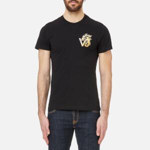 Versace Jeans Men's VJ Chest Logo T-Shirt - Black