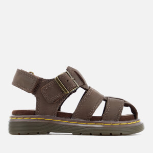 Dr. Martens Toddlers' Moby Wyoming Sandals - Dark Brown