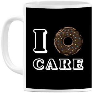 I Donut Care Mug