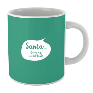 Christmas Sisters Fault Bubble Mug