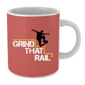 "Taza ""Grind That Rail"""