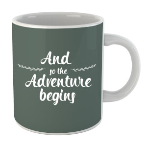 And the Adventure Begins Mug
