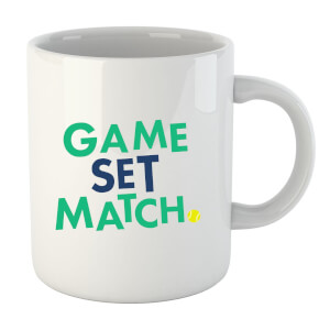 Game Set Match Mug