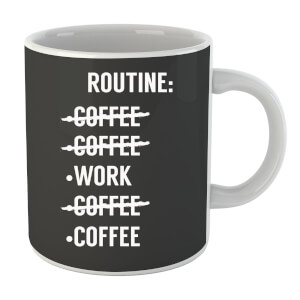 Coffee Routine Mug
