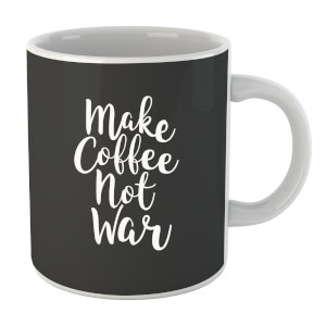 "Taza ""Make Coffee Not War"""