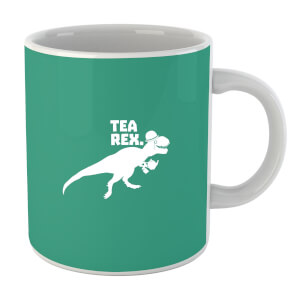 Tea Rex (white) Mug
