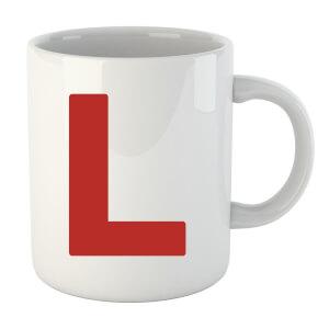 L Plate Mug