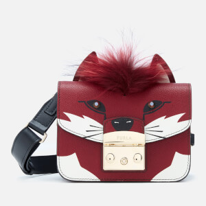 Furla Women's Metropolis Jungle Mini Cross Body Bag - Toni Marrone