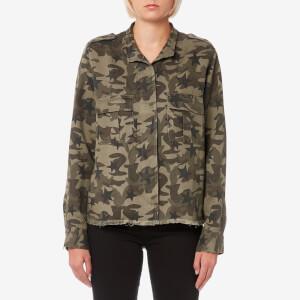 Rails Women's Hendrick Shirt - Star Camo