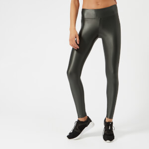 Koral Women's Lustrous Regular Rise Leggings - Gunmetal