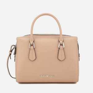 Emporio Armani Women's Boston Bag - Beige