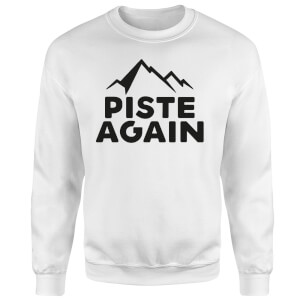 Piste Again Sweatshirt - White
