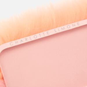 Charlotte Simone Women's Phone Fluff iPhone Case - Pastel Pink/Apricot: Image 4