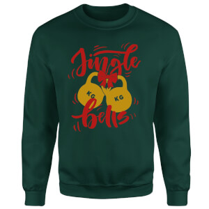Jingle (Kettle) Bells Sweatshirt - Forest Green