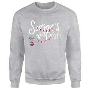 Seasons Greetings Sweatshirt - Grey