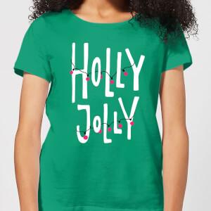 Holly Jolly Women's T-Shirt - Kelly Green