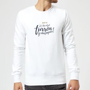 Turron Sweatshirt - White