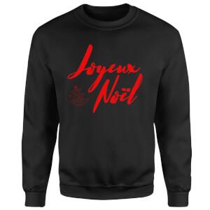 Joyeux Noel 2 Sweatshirt - Black