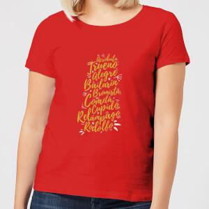 International Reindeer Women's T-Shirt - Red
