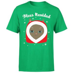 Fleas Navidad T-Shirt - Kelly Green
