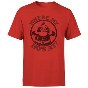 Where My Ho's At T-Shirt - Red