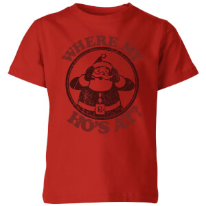 Where My Ho's At Kids' T-Shirt - Red