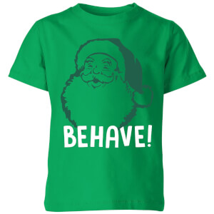 Behave! Kids' T-Shirt - Kelly Green