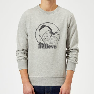 Believe Sweatshirt - Grey
