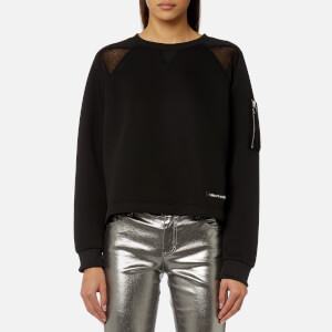 Versace Jeans Women's Sporty Sweatshirt - Black