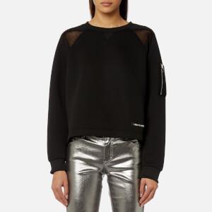 Versace Jeans Women's Sporty Sweatshirt - Black