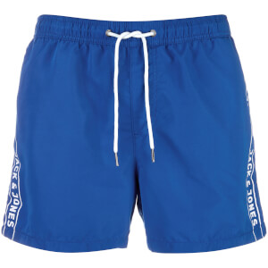 Short de Bain Originals Jack 467 Logo Jack & Jones - Bleu