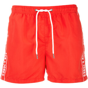 Short de Bain Originals Jack 467 Logo Jack & Jones - Corail