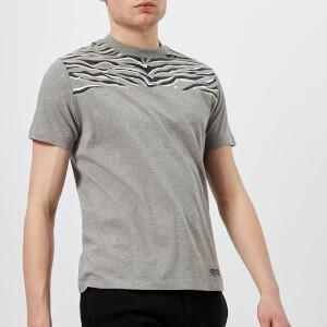 KENZO Men's Tiger Stripe T-Shirt - Dove Grey