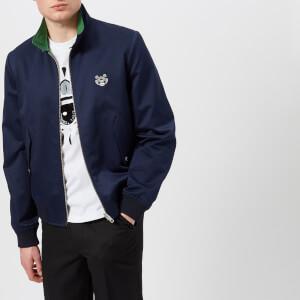 KENZO Men's Reversible Tiger Crest Jacket - Navy Blue