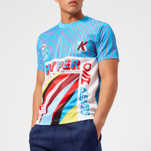 KENZO Men's All Over Sports T-Shirt - Multi