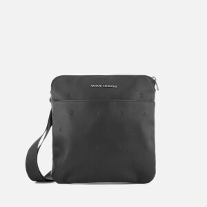 Armani Exchange Men's Small Cross Body Bag - Nero