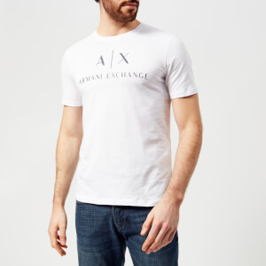Armani Exchange Men's Classic Logo T-Shirt - White