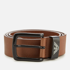 Emporio Armani Men's Belt - Cognac