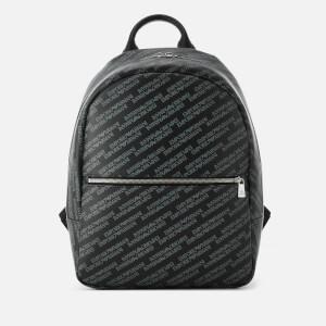 Emporio Armani Men's Backpack - Lavagna/Nero