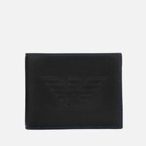 Emporio Armani Men's Bi-Fold Coin Purse - Black