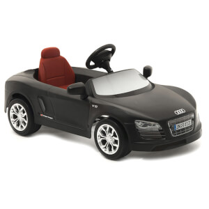 Audi R8 Spyder 12V Electric Car - Mat Black
