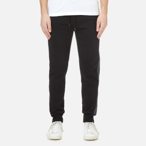 Michael Kors Men's Grosgrain Trim Cuffed Sweatpants - Black