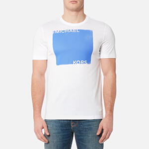 Michael Kors Men's Colourfield Square Logo T-Shirt - White
