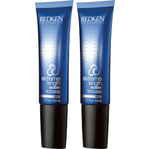 Redken Extreme Length Sealer Split End Treatment -hoitoainesetti (2 x 50ml)